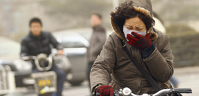 China Air Pollution Tangibility Tradeoff Consequences - Collective Responsibility