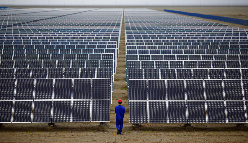 Solar Power Energy Drumpf China - Collective Responsibility