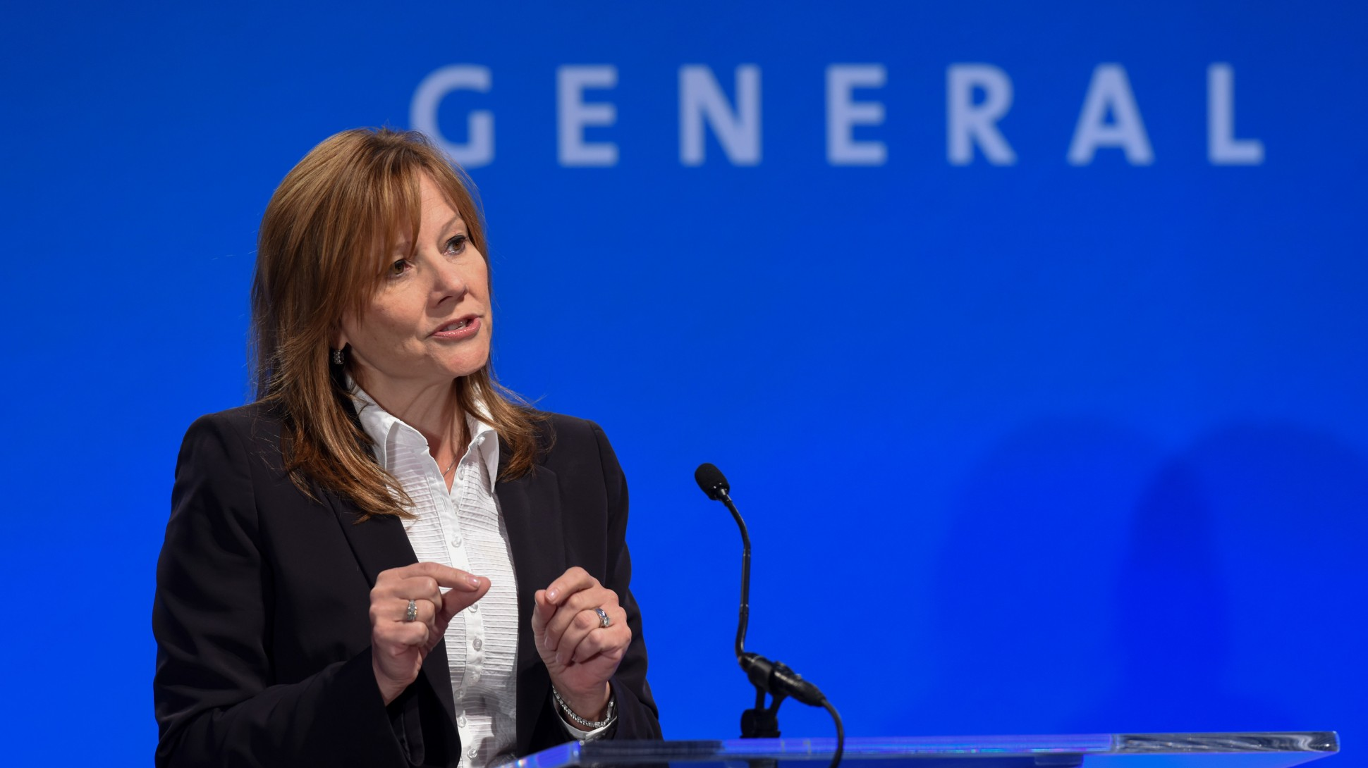 MG Mary Barra Drumpf China - Collective Responsibility