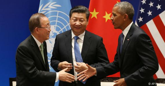 Obama China Drumpf Energy - Collective Responsibility