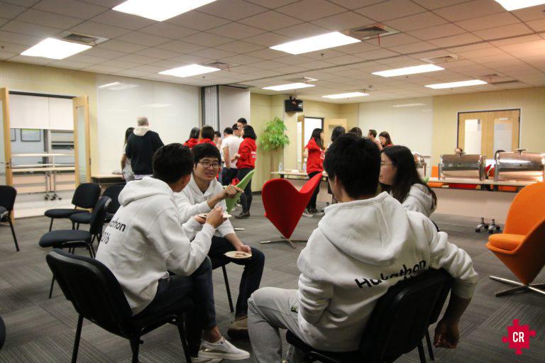 Students Working Kohler Hackathon - Collective Responsibility