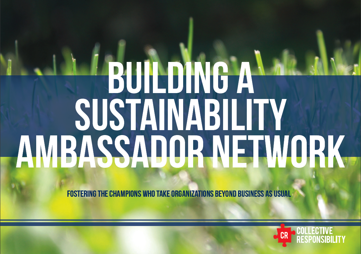 Building Susty Ambassadors Network Report – Collective Responsibility