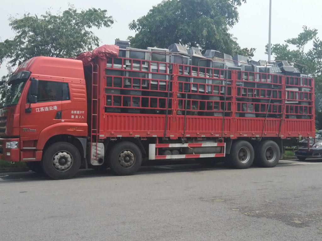 Ewaste Truck Shanghai