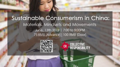 Sustainable Consumerism in China